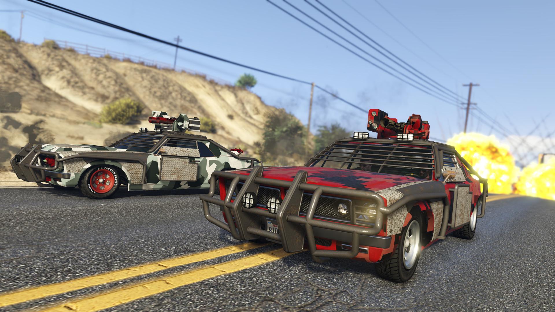 Aktualizace Gunrunning přidá do GTA Online obojživelná obrněná vozidla a podzemní základny 144781
