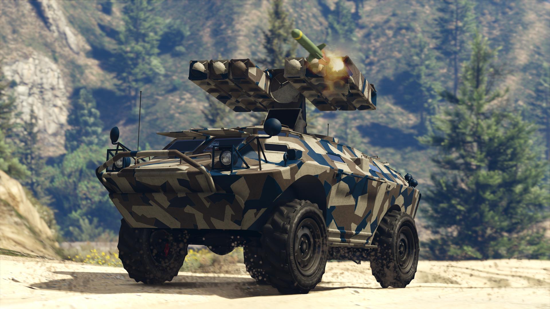 Aktualizace Gunrunning přidá do GTA Online obojživelná obrněná vozidla a podzemní základny 144784