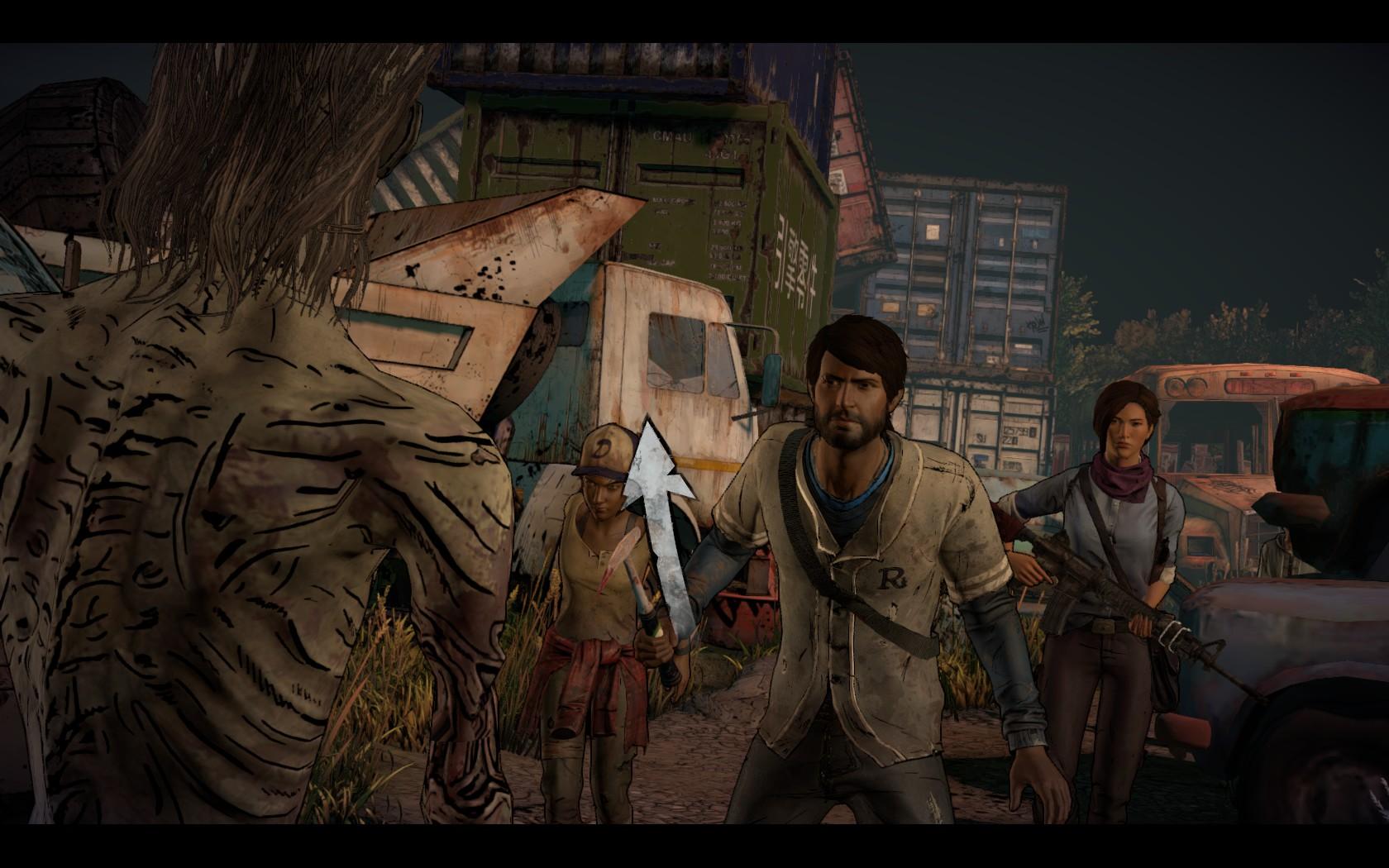 The Walking Dead: A New Frontier - všeho moc škodí 144981