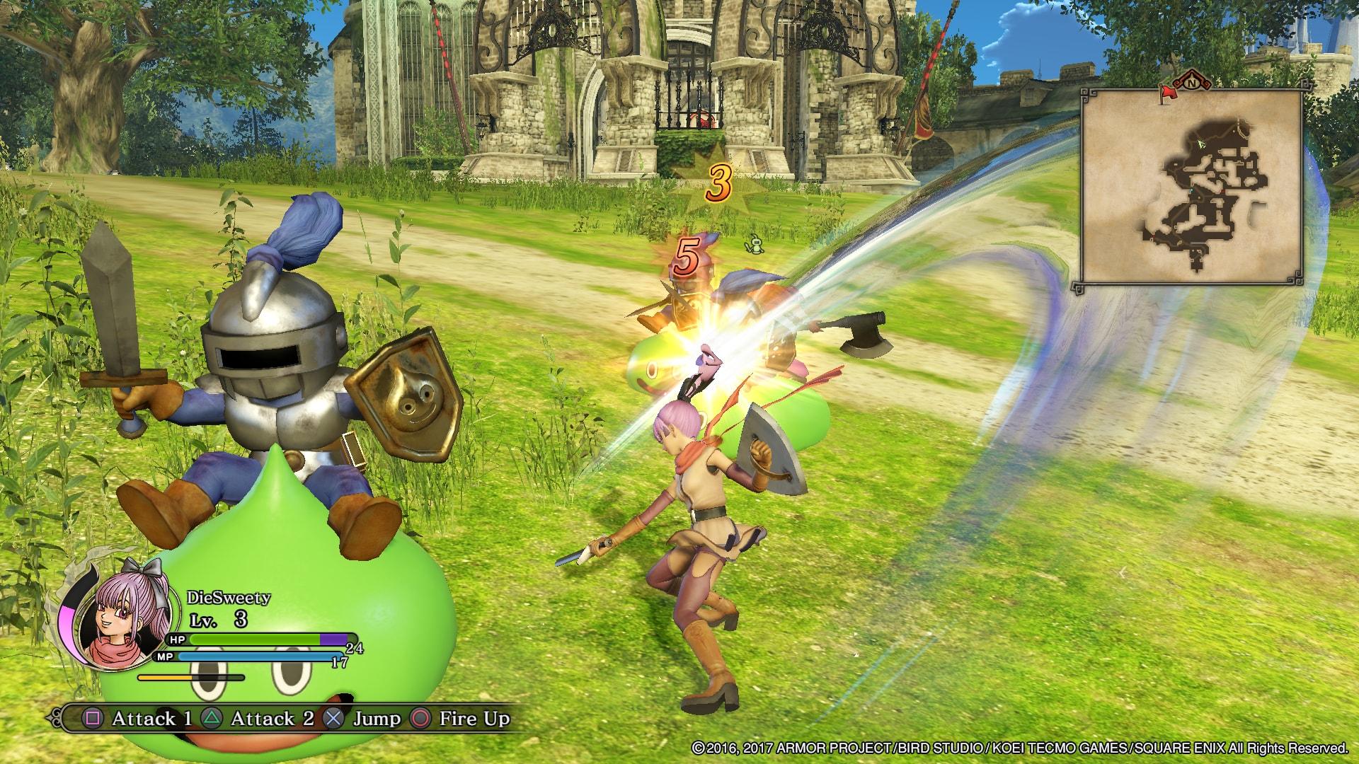 Dragon Quest Heroes II - experiment chyb zbavený 145048