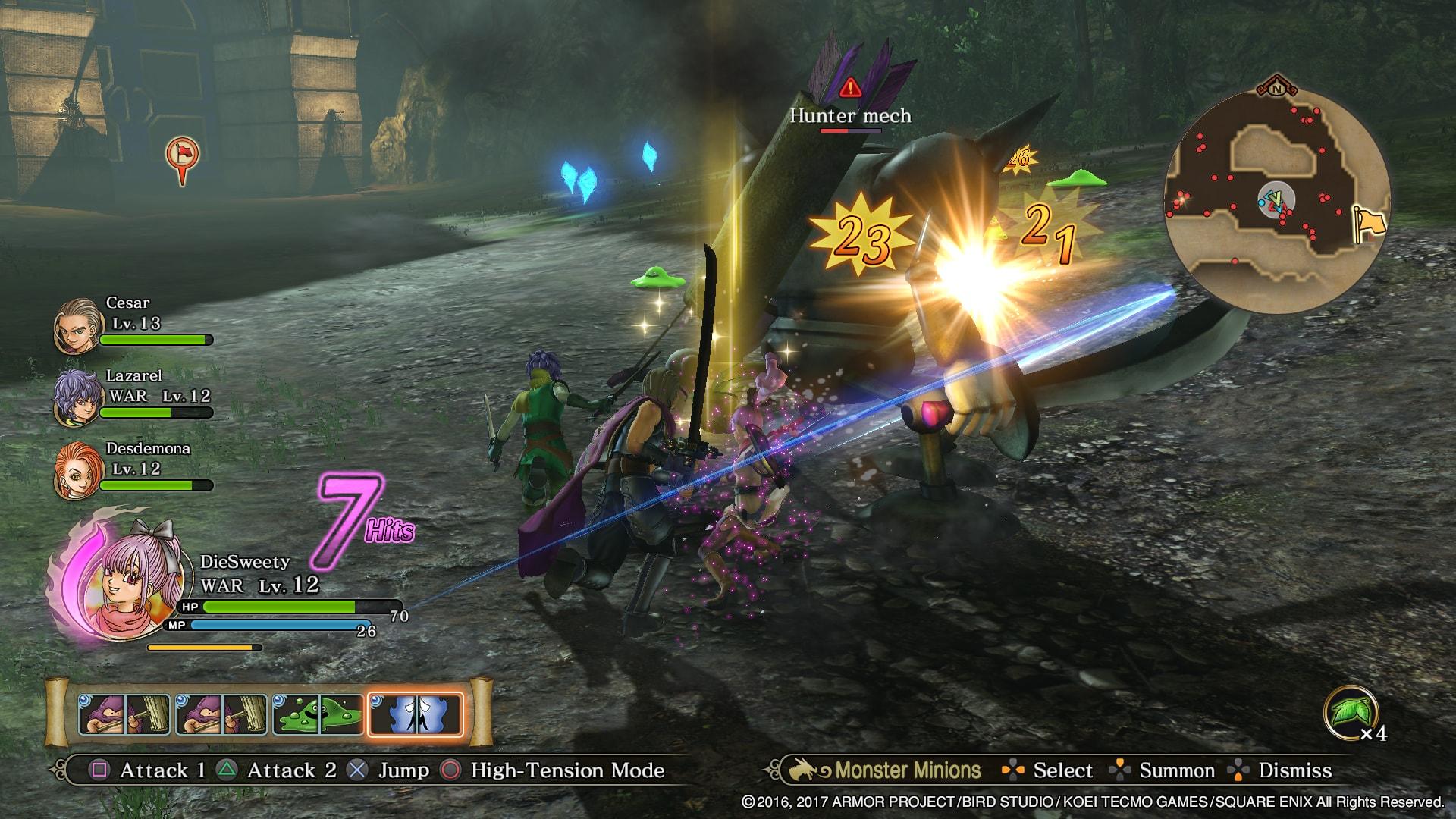 Dragon Quest Heroes II - experiment chyb zbavený 145070
