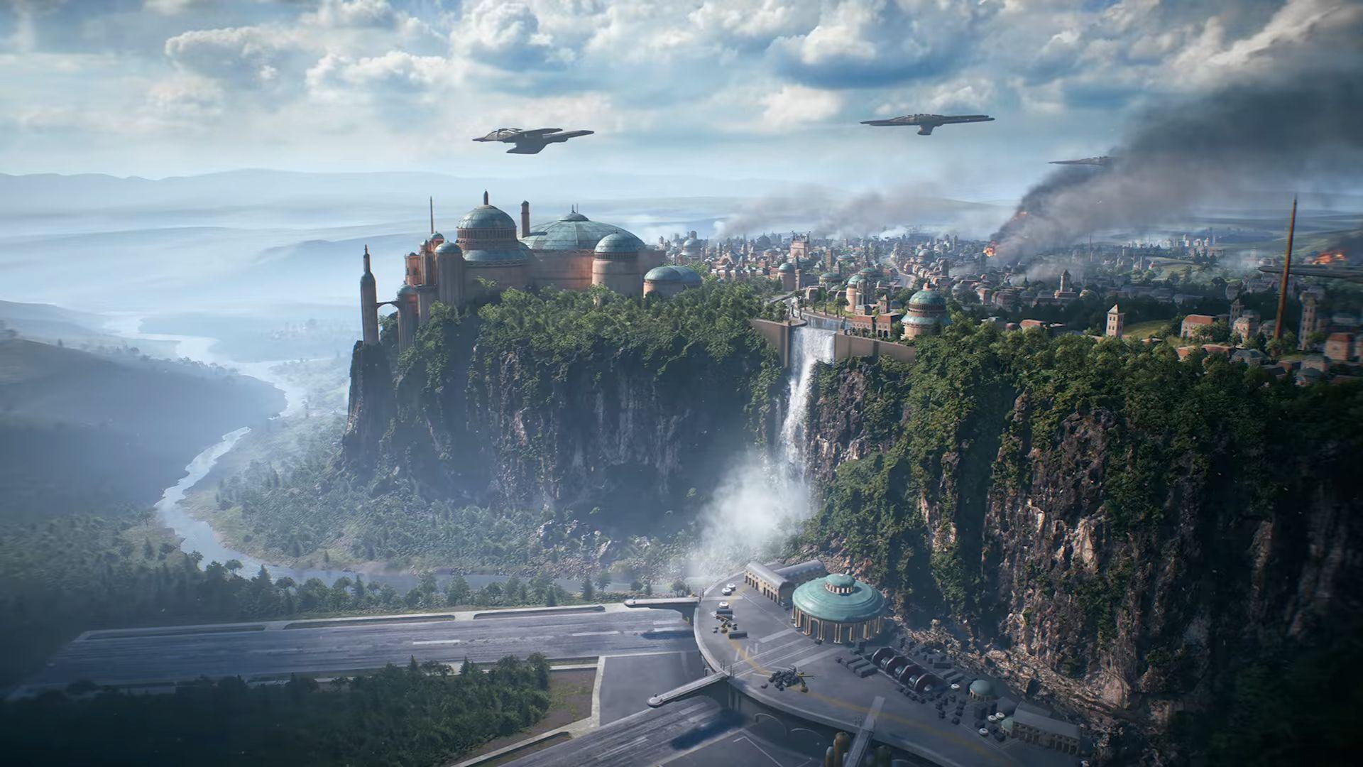 První pohled na planetu Naboo ve Star Wars: Battlefrontu 2 145443