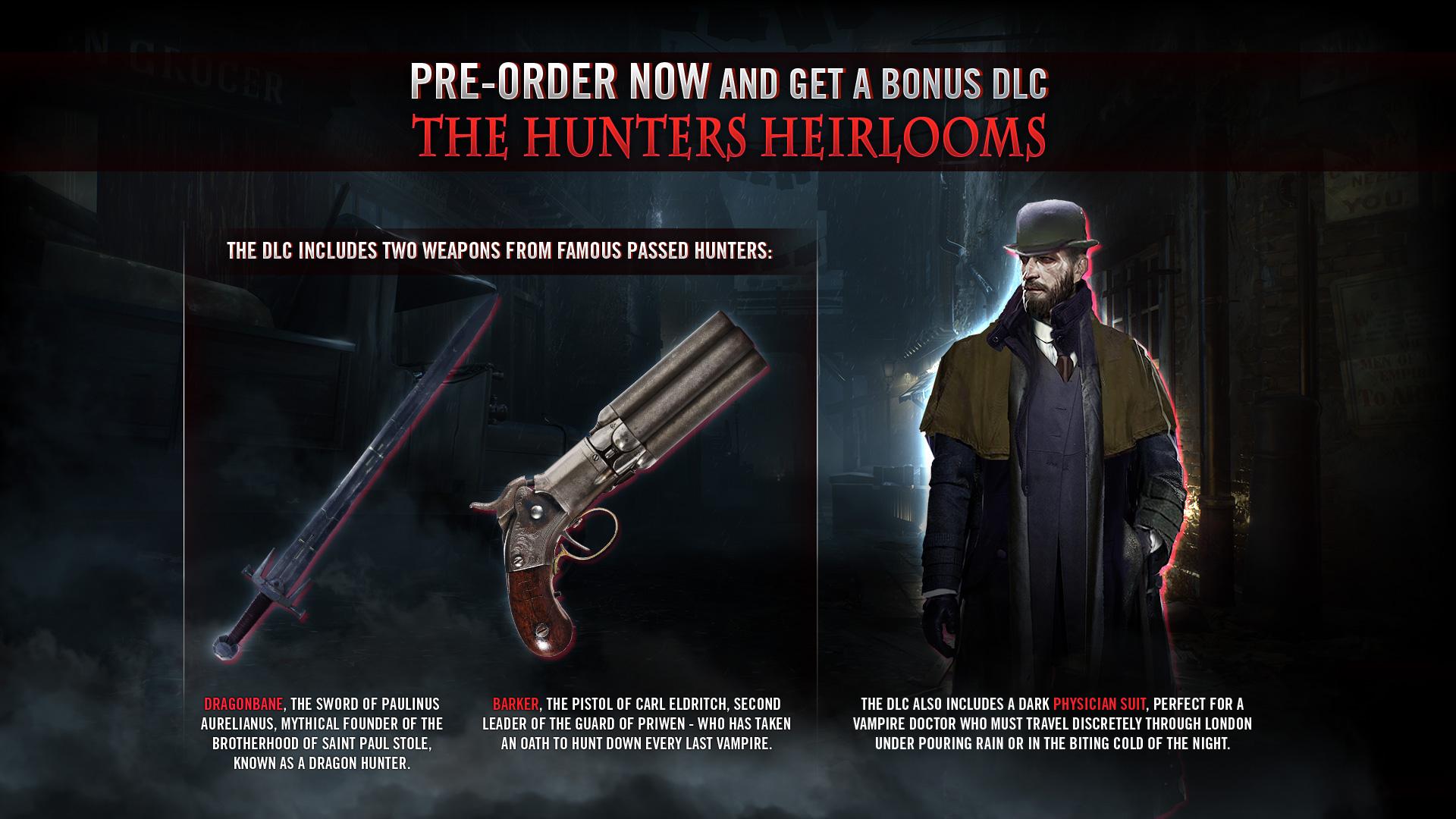 RPG akce Vampyr v E3 traileru 145456