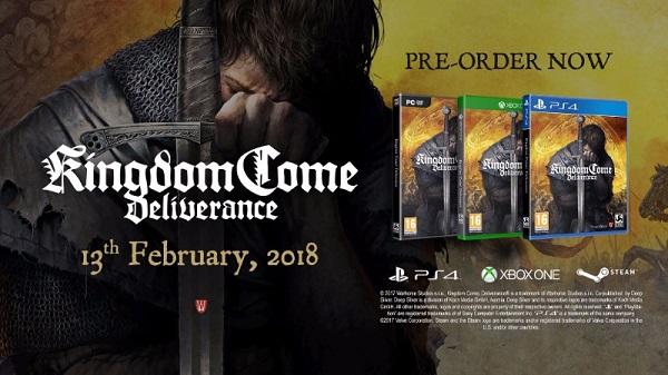 Kingdom Come: Deliverance vyjde 13. února 2018 145530