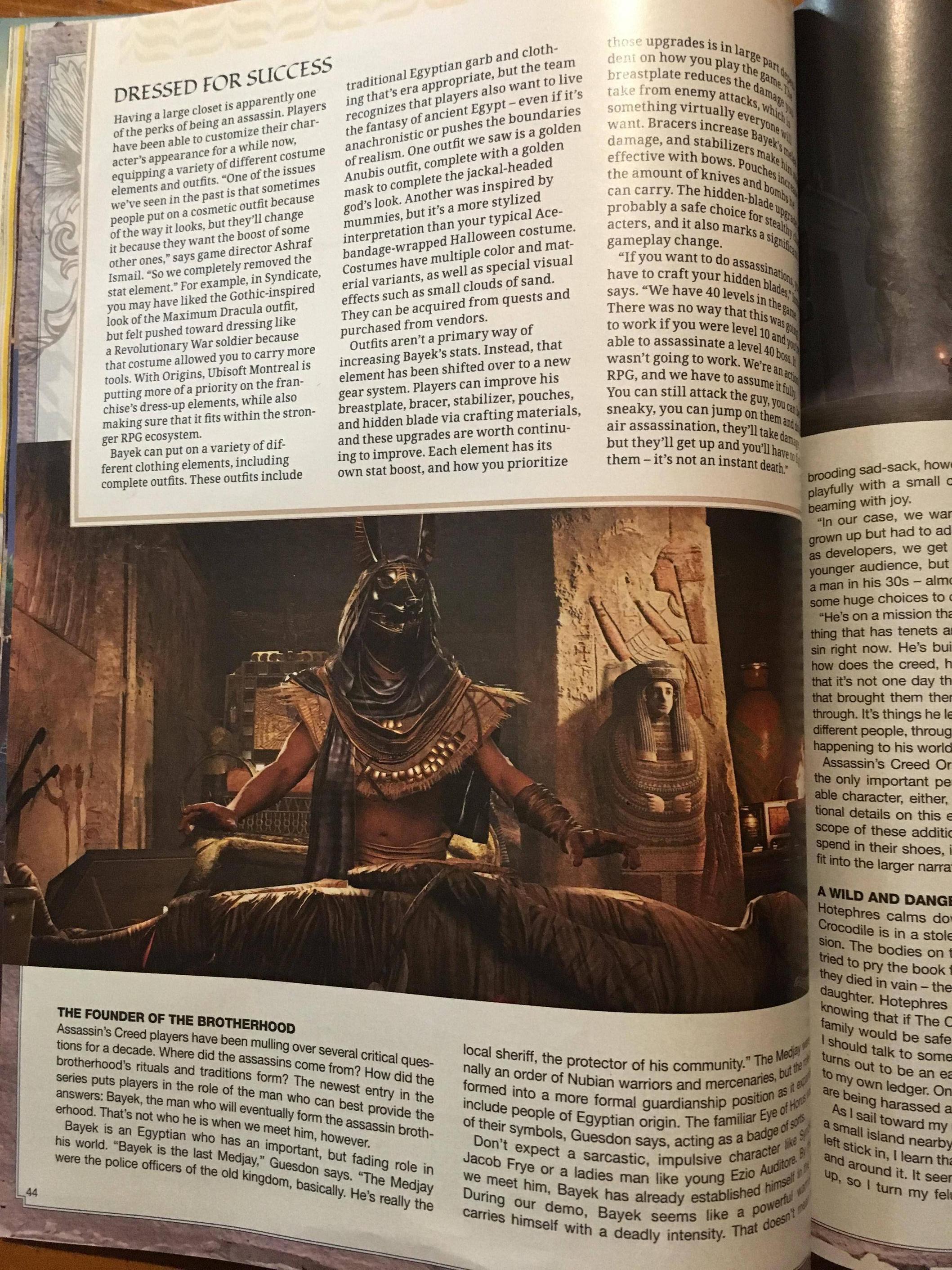 Tuna informací o Assassin's Creed: Origins z nového čísla Game Informeru 145585