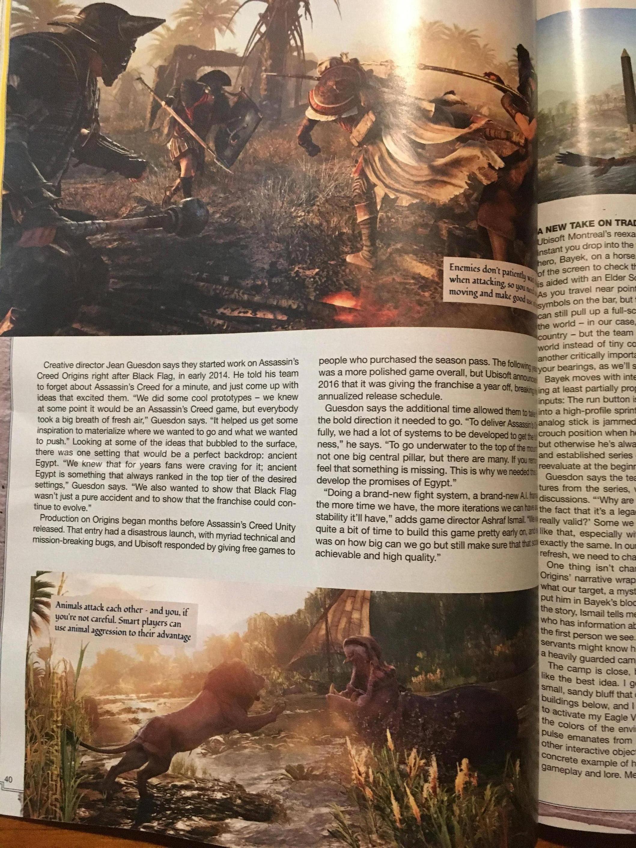 Tuna informací o Assassin's Creed: Origins z nového čísla Game Informeru 145586