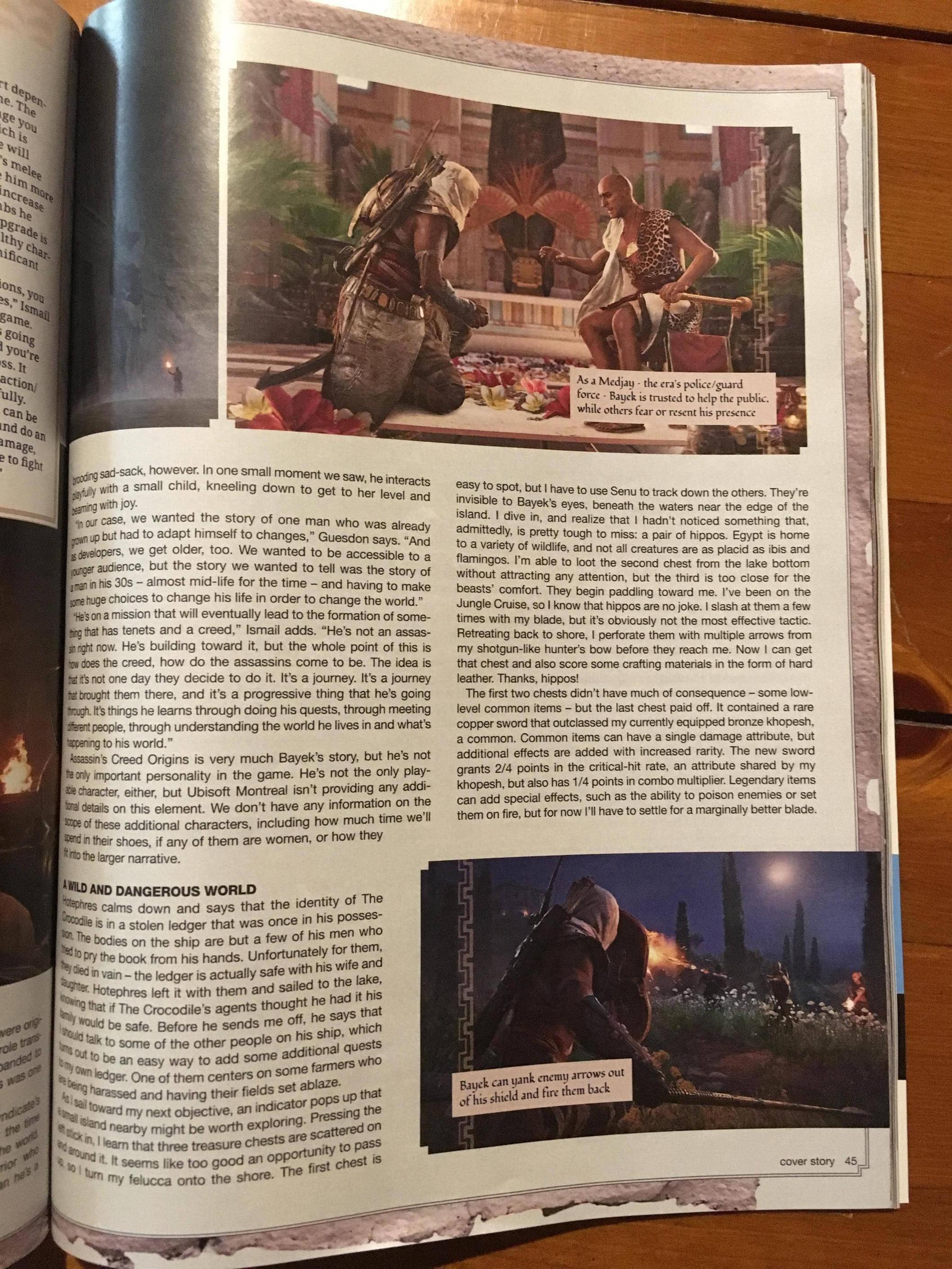 Tuna informací o Assassin's Creed: Origins z nového čísla Game Informeru 145588