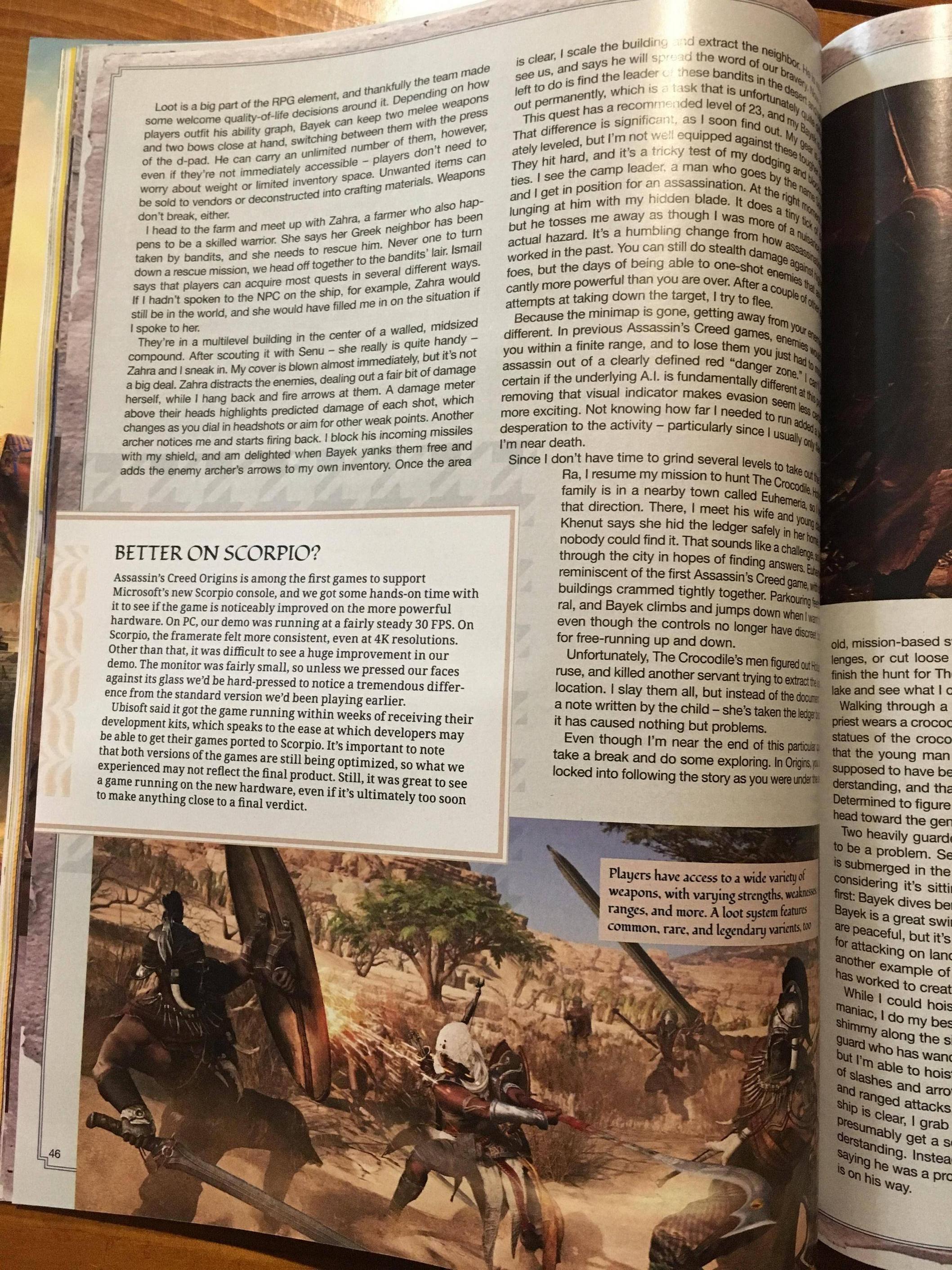 Tuna informací o Assassin's Creed: Origins z nového čísla Game Informeru 145593