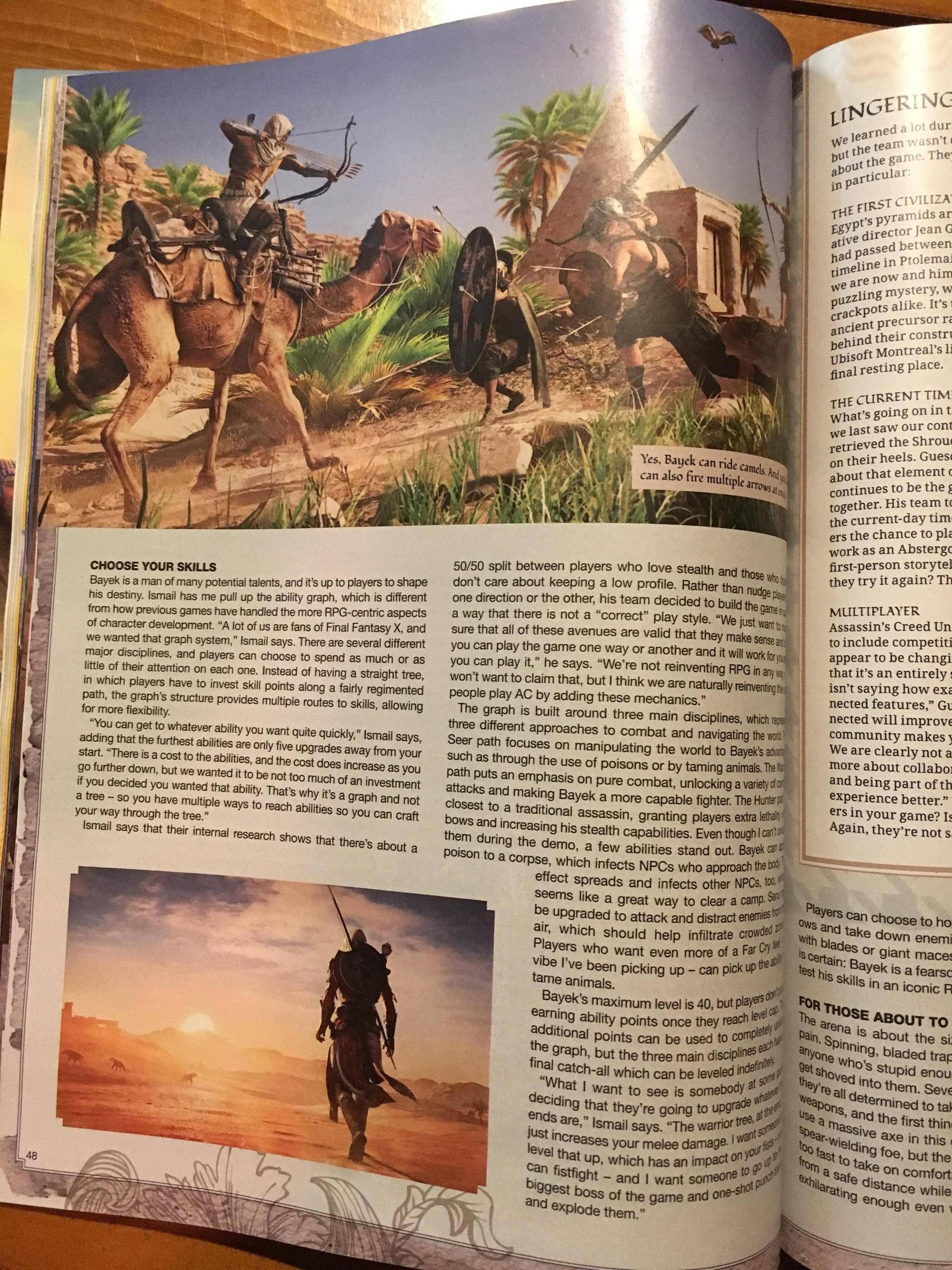 Tuna informací o Assassin's Creed: Origins z nového čísla Game Informeru 145594