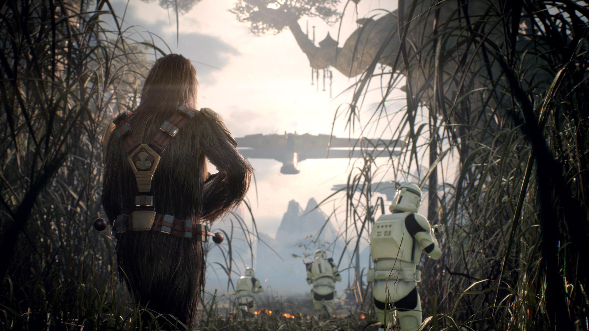 Hrdiny, stíhačky a třídy Star Wars: Battlefrontu 2 lze upravovat pomocí Star karet 145619