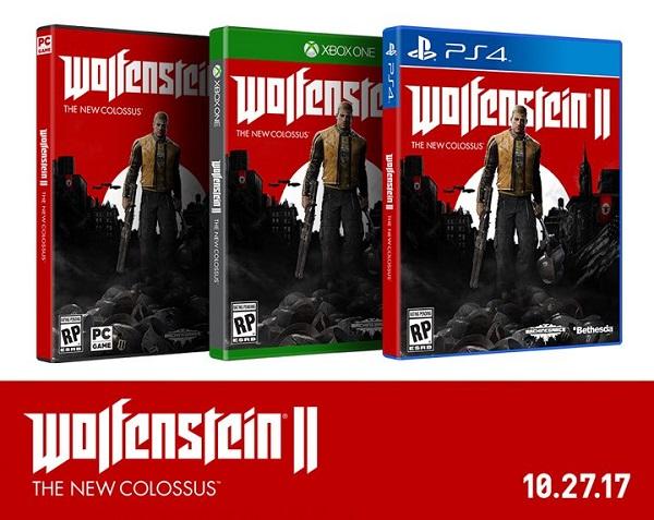 BJ Blazkowicz se probouzí, Wolfenstein 2: The New Colossus oznámen 145668