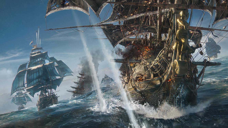 Ubisoft věří v pirátské Skull and Bones 145949