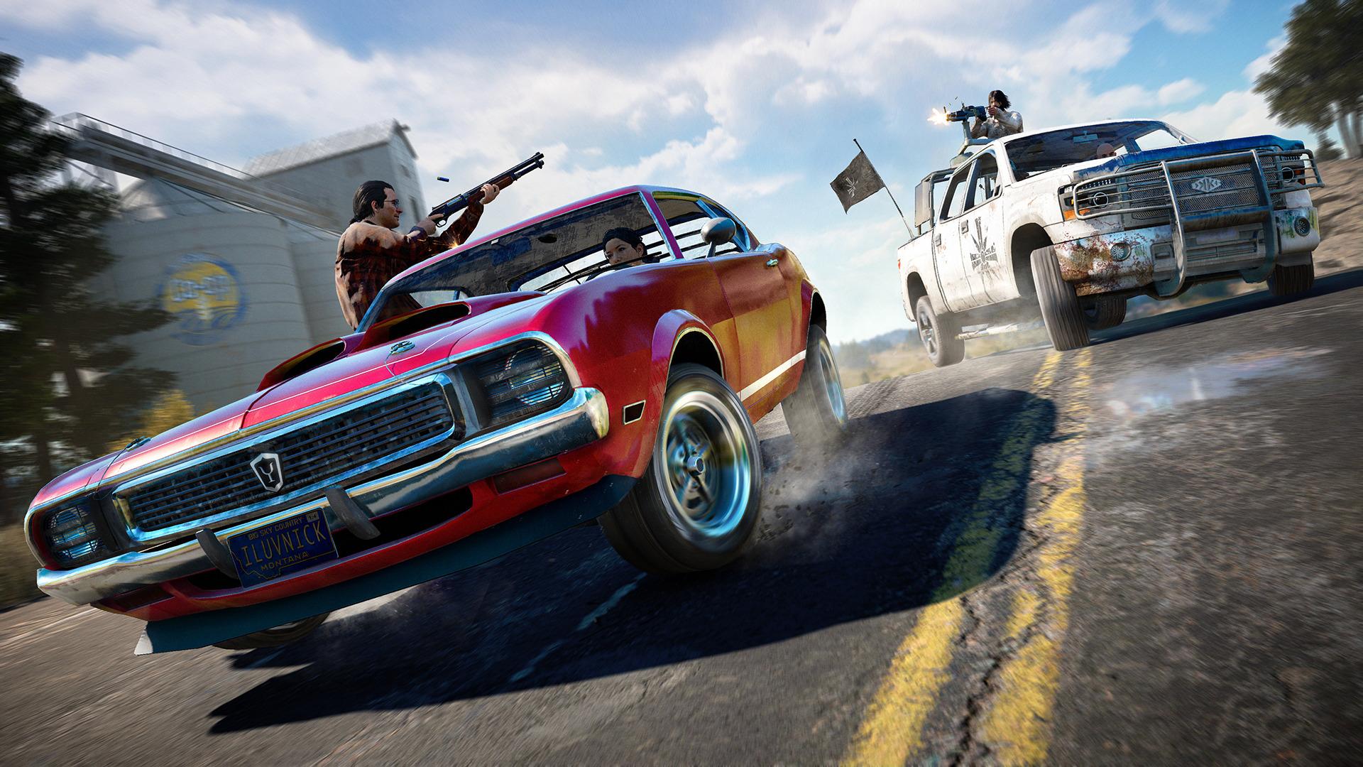 Far Cry 5 vypadá jako moderní, vidlácká kovbojka 145990