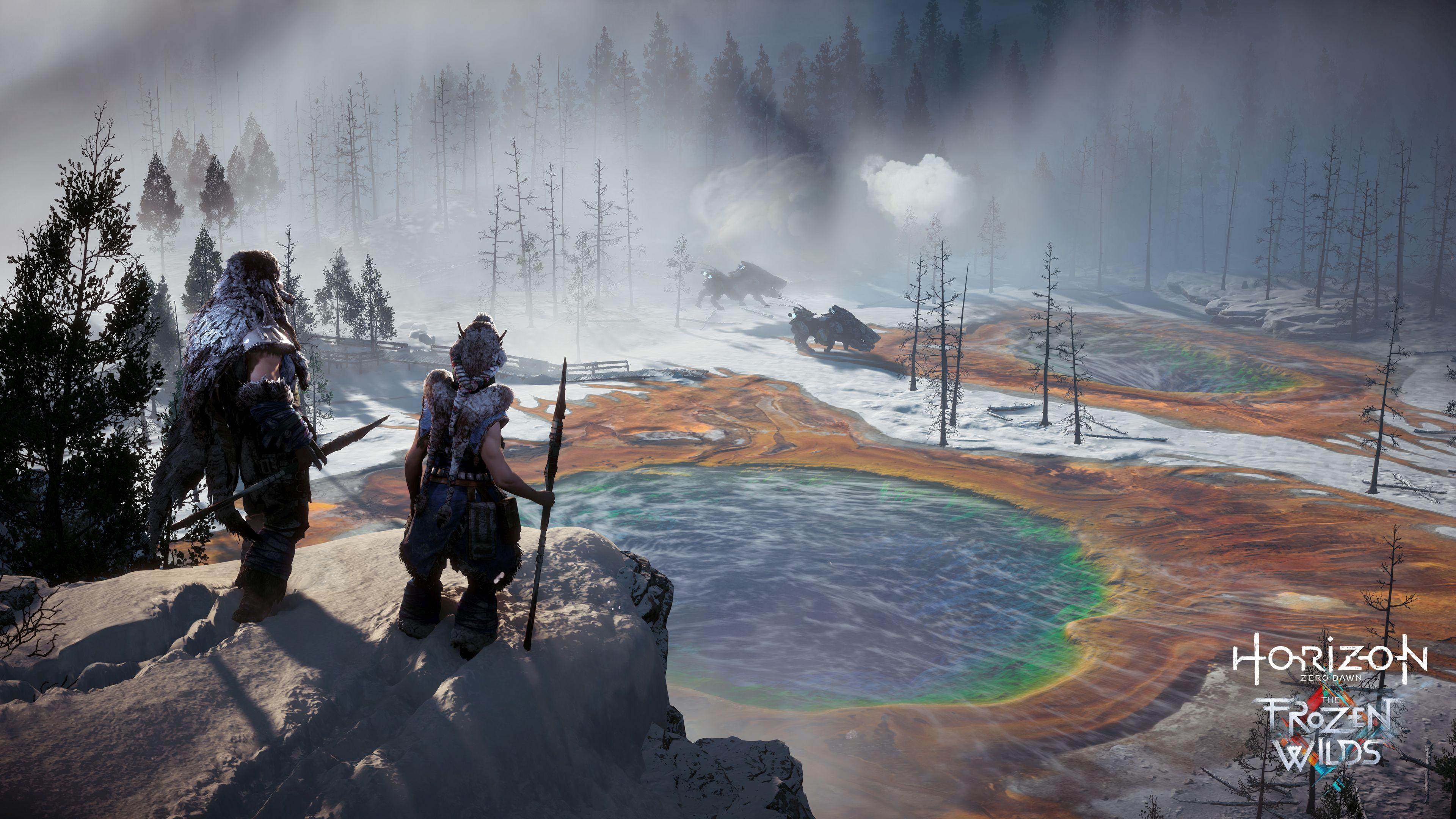 Horizon Zero Dawn se letos dočká příběhového rozšíření The Frozen Wilds 145996