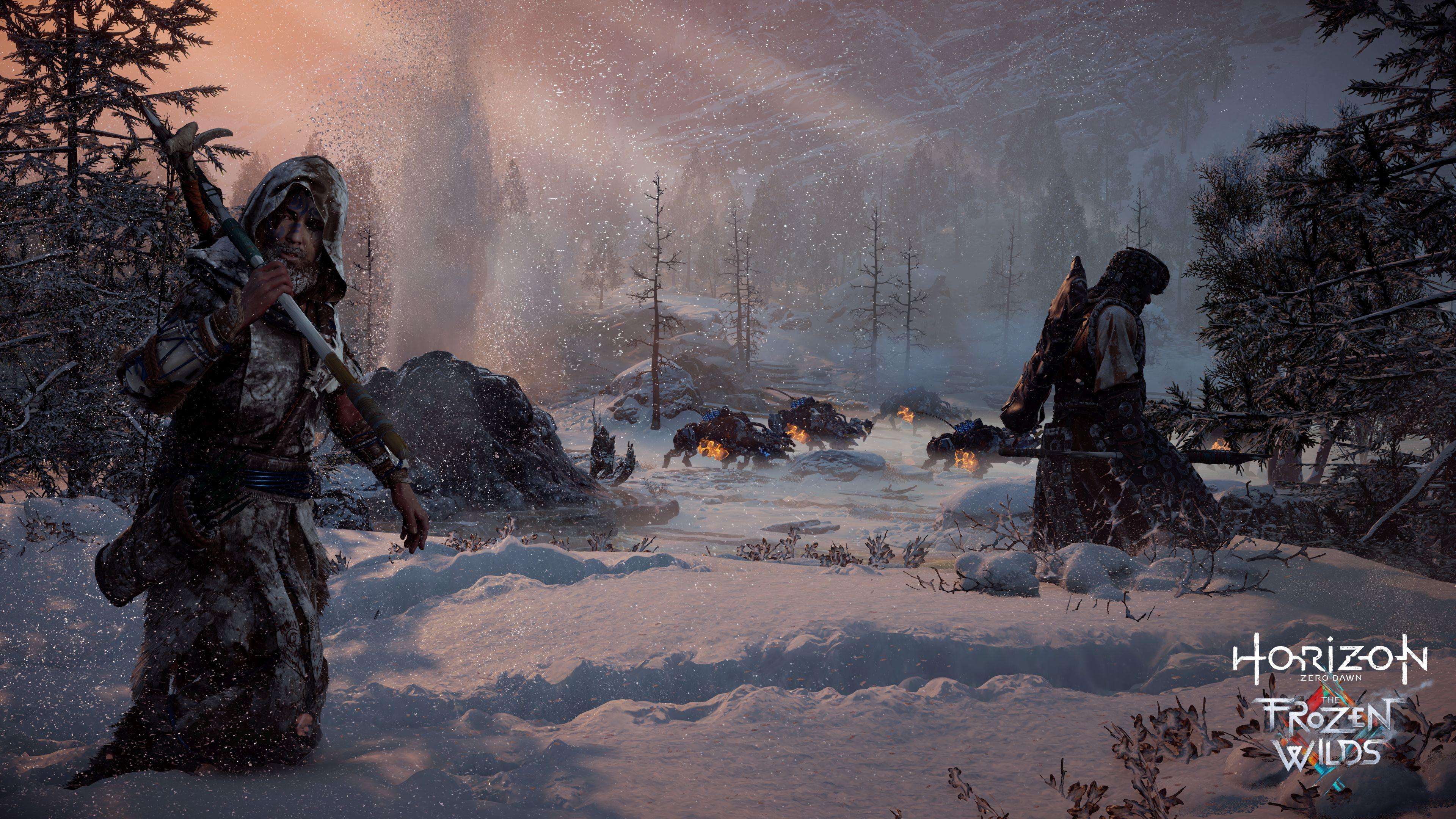 Horizon Zero Dawn se letos dočká příběhového rozšíření The Frozen Wilds 146001
