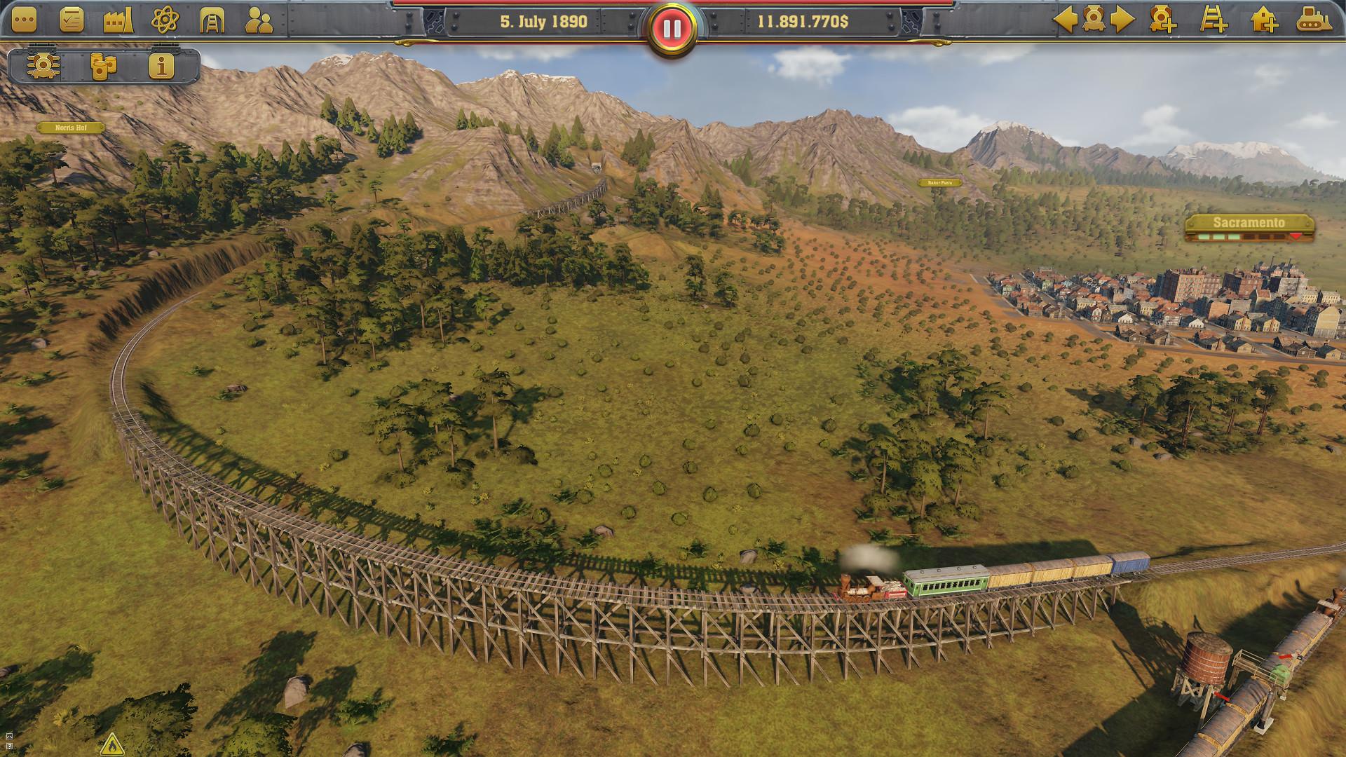 Útoky, sabotáže a průmyslová špionáž v Railway Empire 146078