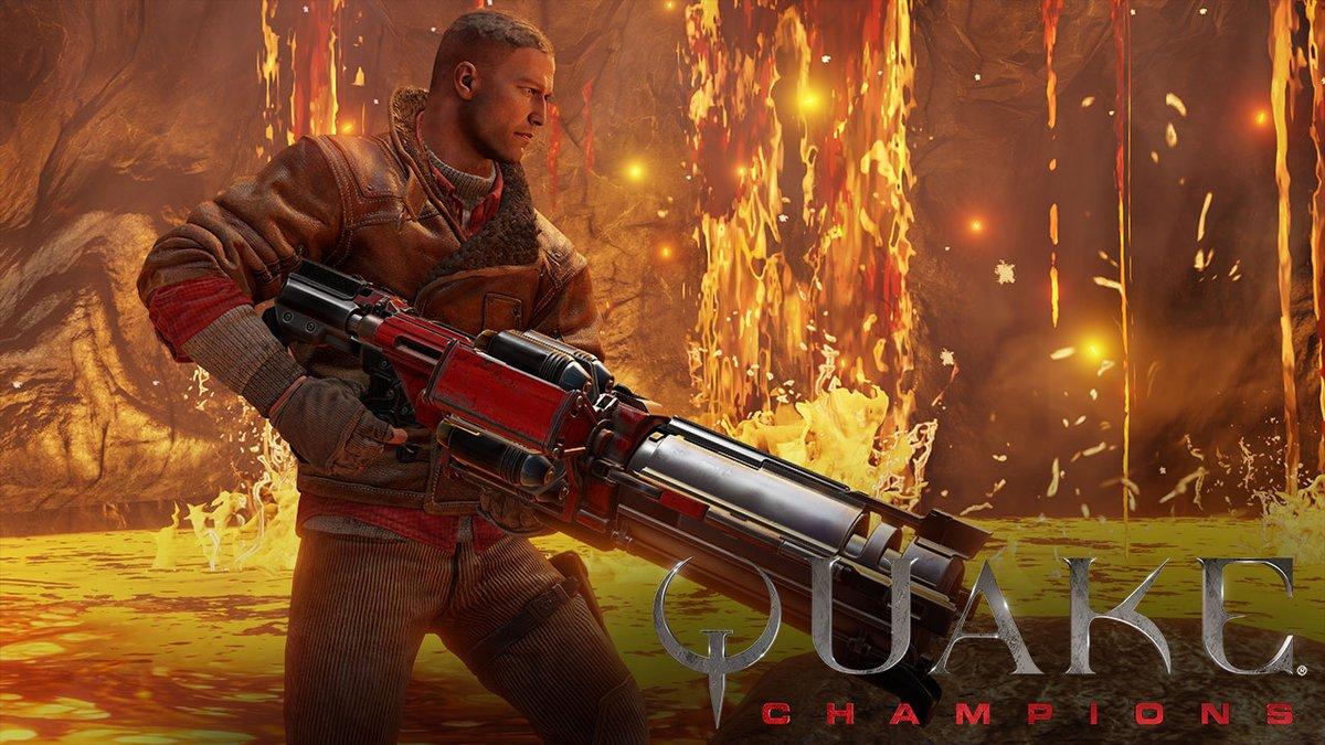 BJ Blazkowicz z Wolfensteina řádí v Quake Champions 146080