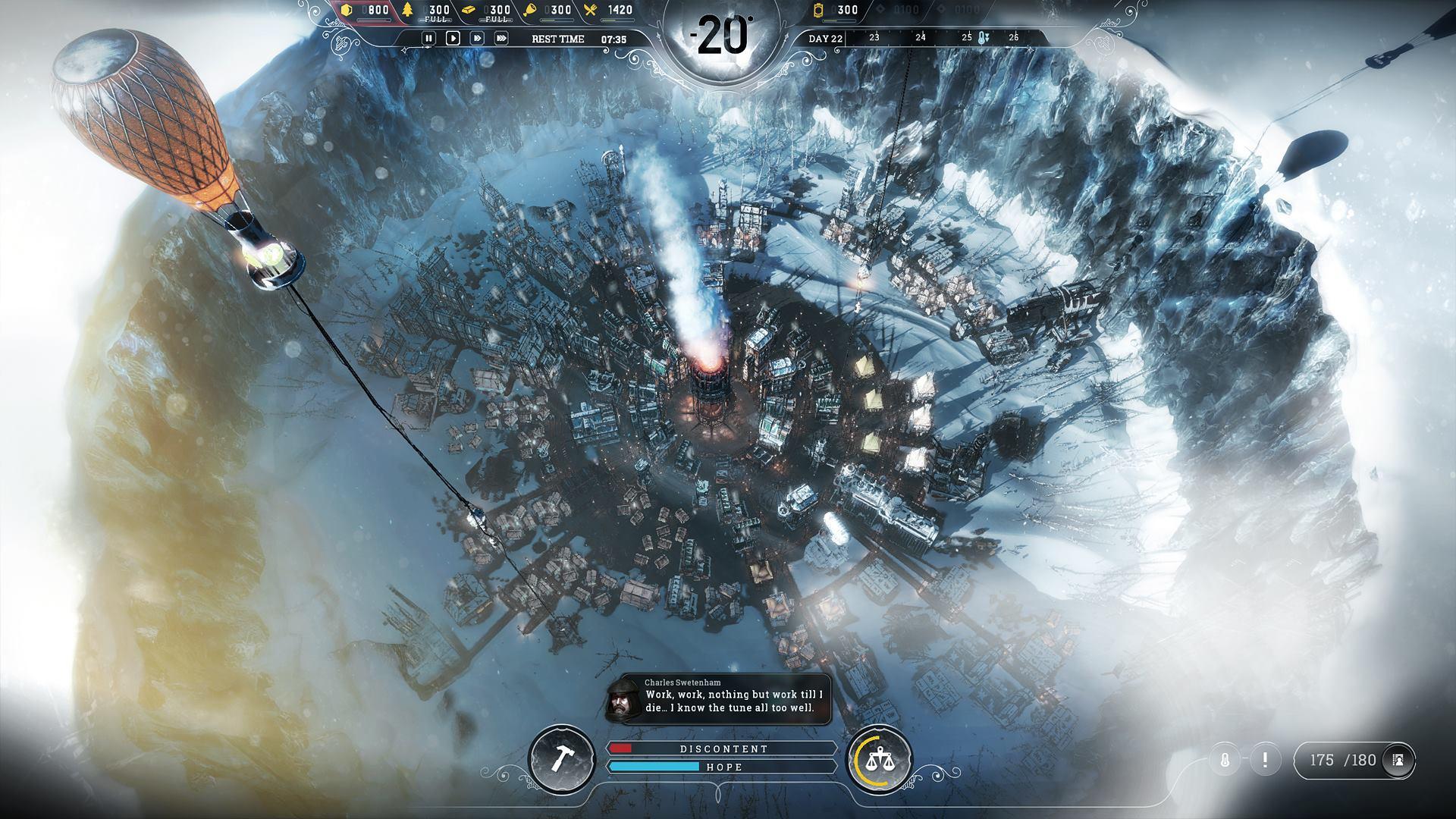 Frostpunk od tvůrců This War of Mine ukazuje kruté podmínky 146176