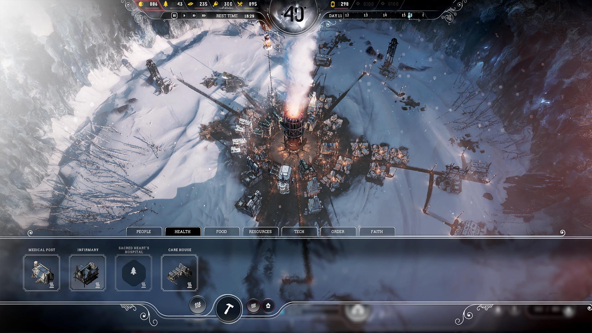 Frostpunk od tvůrců This War of Mine ukazuje kruté podmínky 146177