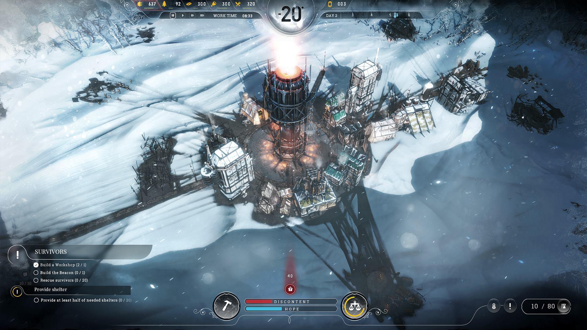 Frostpunk od tvůrců This War of Mine ukazuje kruté podmínky 146179
