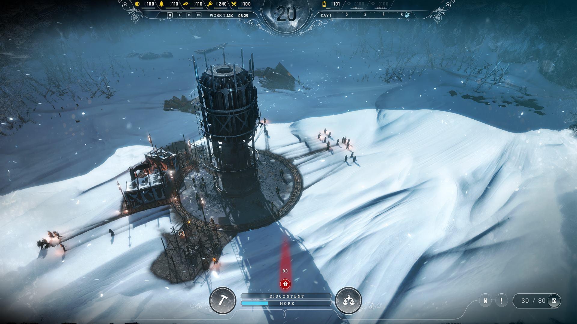 Frostpunk od tvůrců This War of Mine ukazuje kruté podmínky 146180