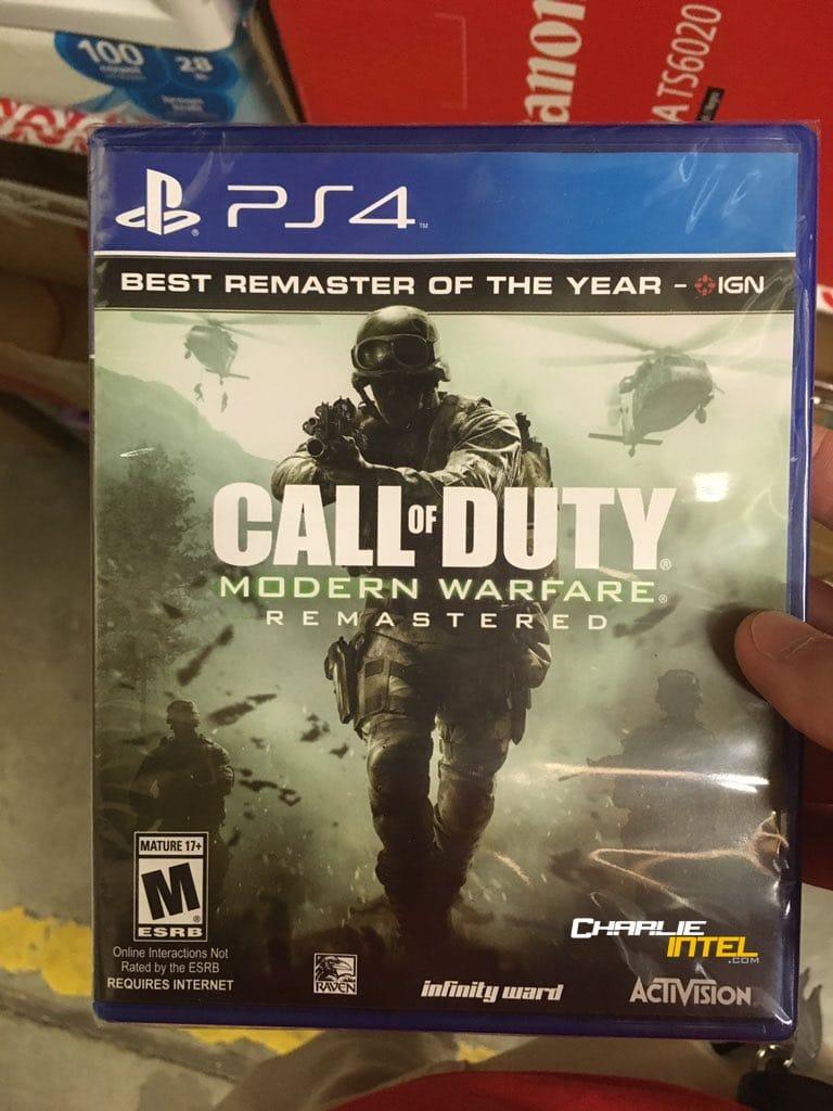 Call of Duty: Modern Warfare Remastered míří do obchodů 146205