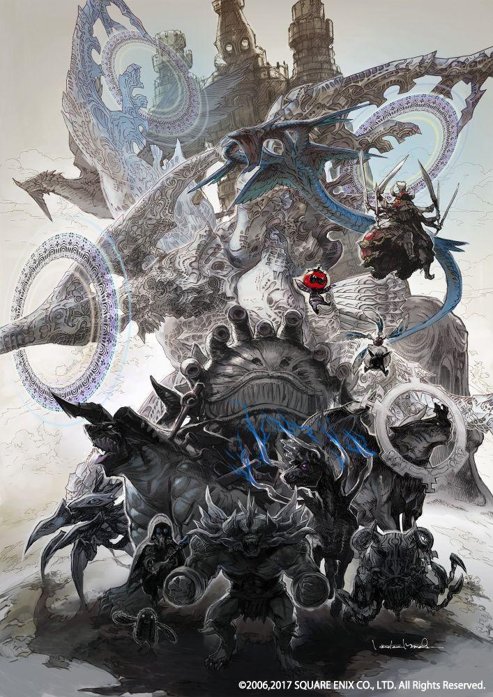 Lov, klany a nepřátelé z Final Fantasy XII: The Zodiac Age na screenshotech 146313