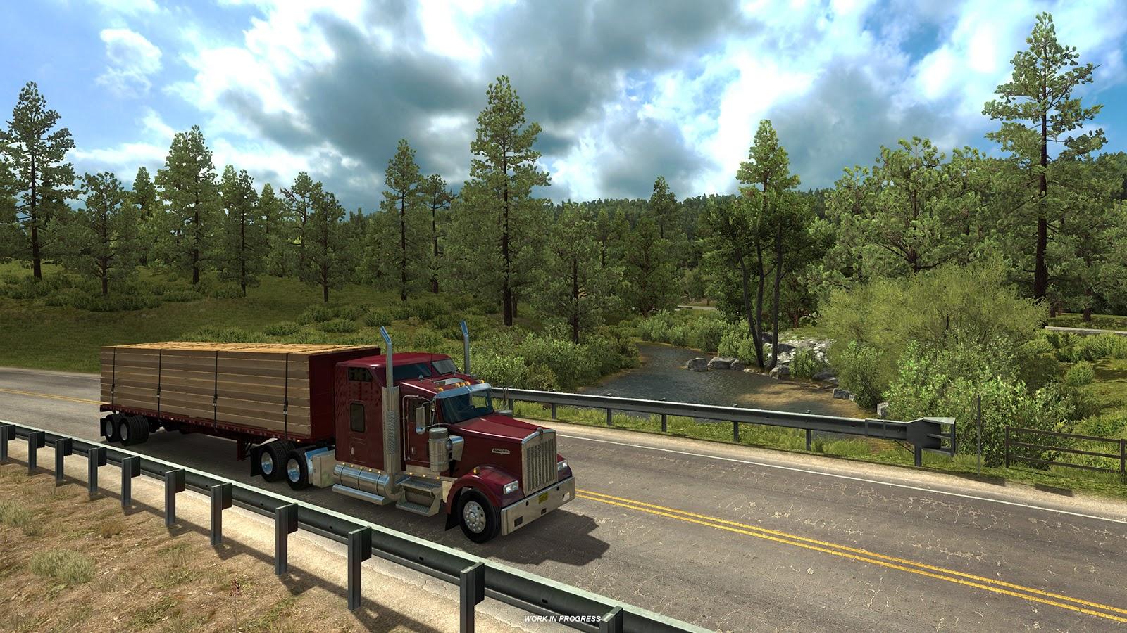 Pokochejte se Novým Mexikem z American Truck Simulatoru 146366