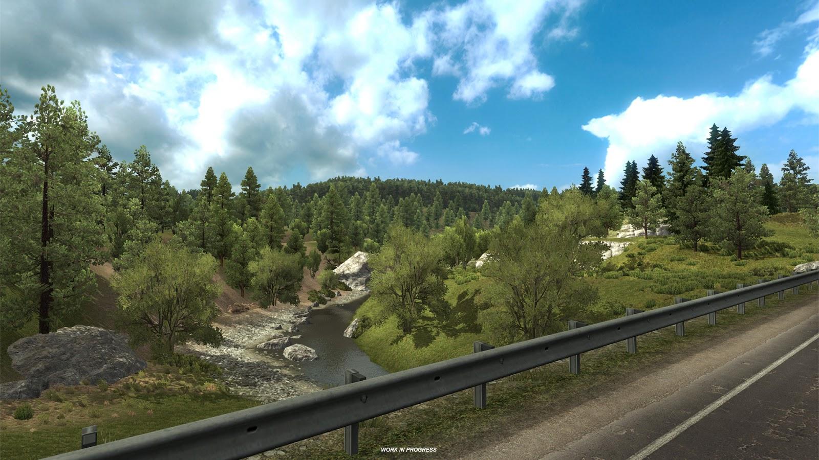 Pokochejte se Novým Mexikem z American Truck Simulatoru 146367