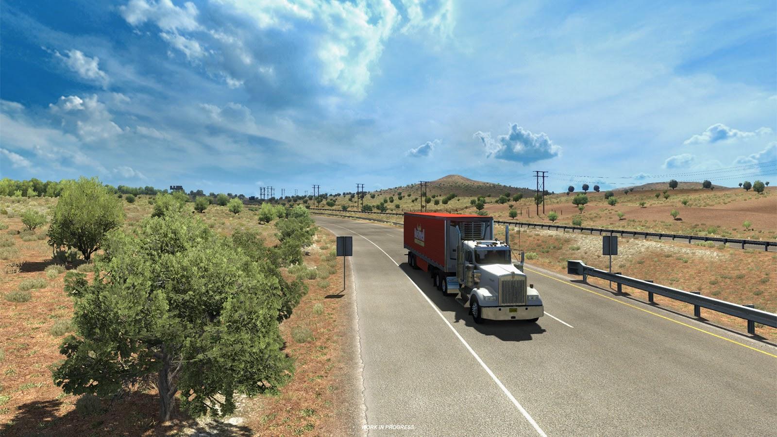 Pokochejte se Novým Mexikem z American Truck Simulatoru 146368