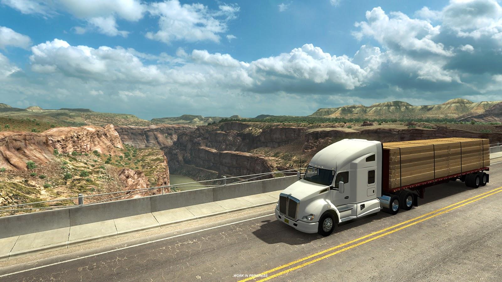Pokochejte se Novým Mexikem z American Truck Simulatoru 146369