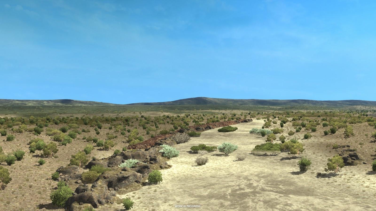 Pokochejte se Novým Mexikem z American Truck Simulatoru 146371