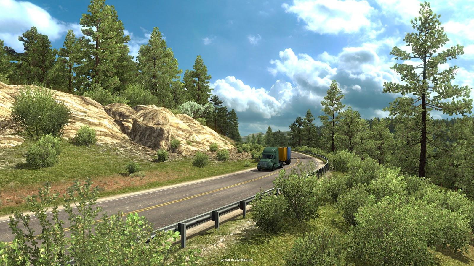Pokochejte se Novým Mexikem z American Truck Simulatoru 146372