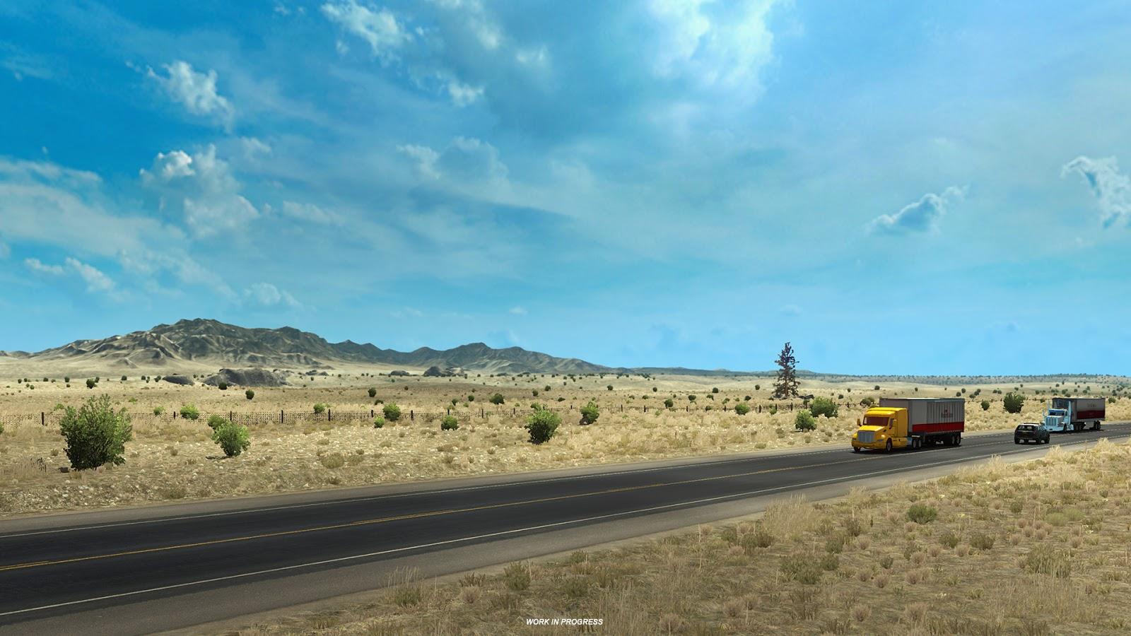 Pokochejte se Novým Mexikem z American Truck Simulatoru 146373