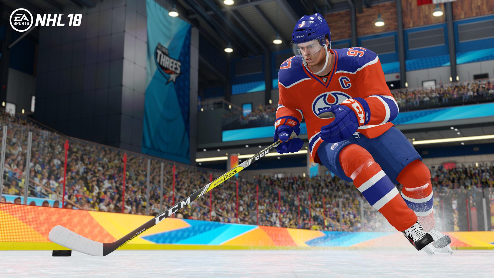 NHL 18 se zaměří na kreativitu mladých superhvězd 146378