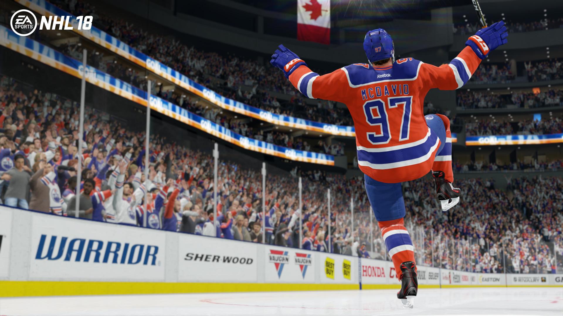NHL 18 se zaměří na kreativitu mladých superhvězd 146379