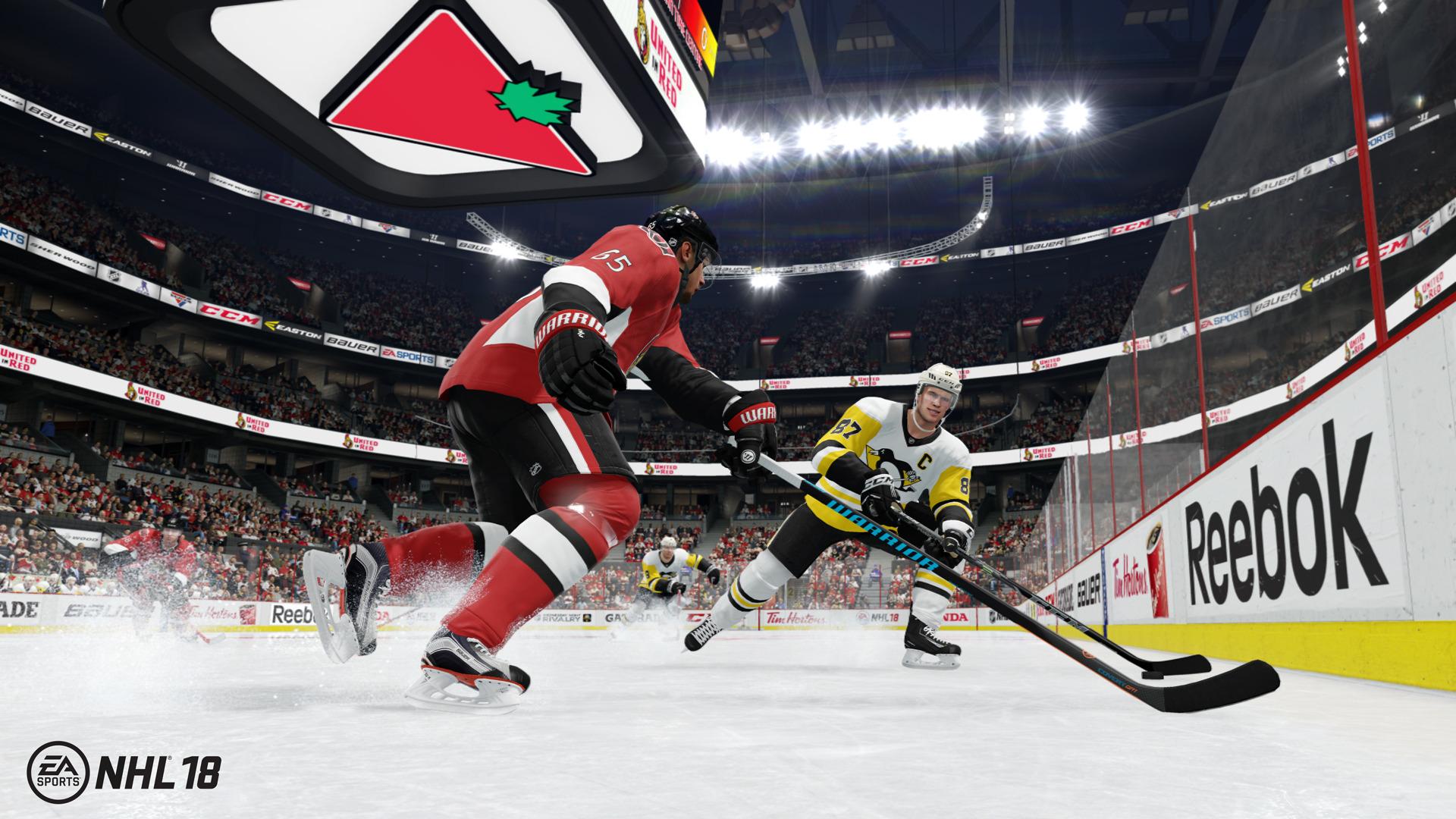 NHL 18 se zaměří na kreativitu mladých superhvězd 146381