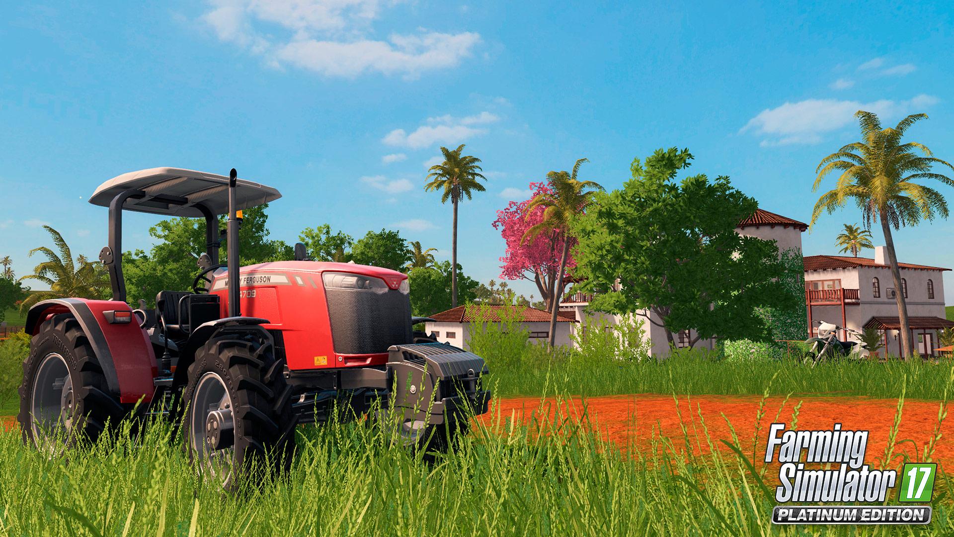 Oznámena platinová edice Farming Simulatoru 17 s novým obsahem 146460