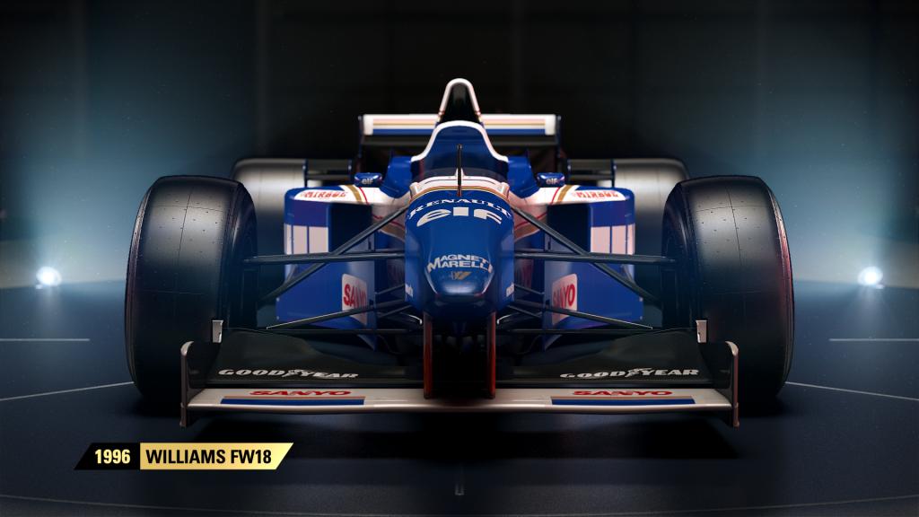 Historické vozy stáje Williams ve hře F1 2017 146490