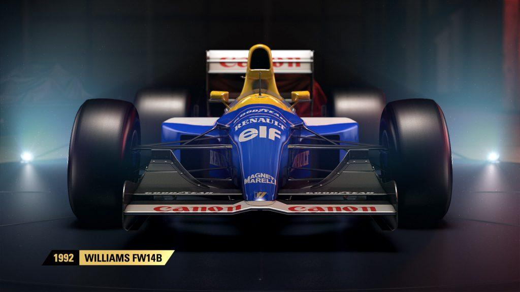 Historické vozy stáje Williams ve hře F1 2017 146491