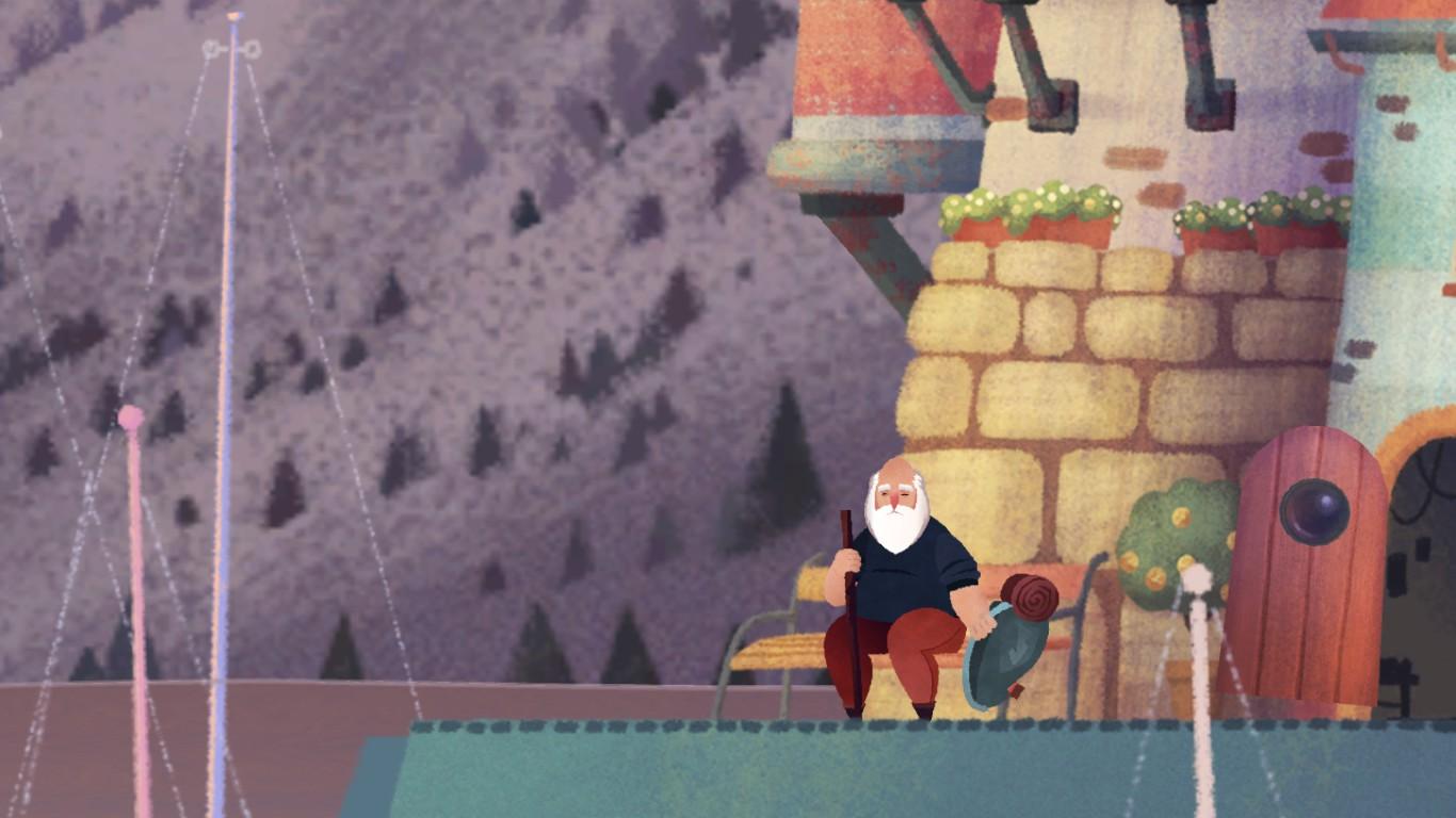 Old Man's Journey – láska hory přenáší 146506