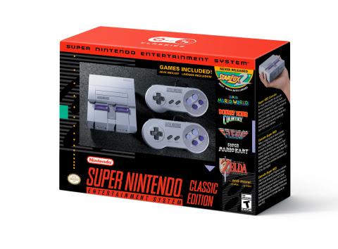 Nintendo oznámilo SNES Classic 146535