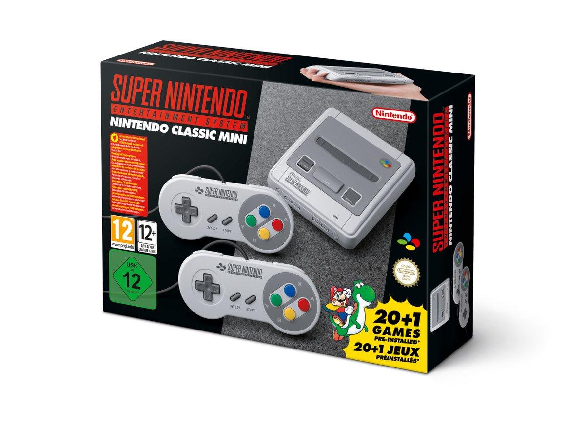 Nintendo oznámilo SNES Classic 146562