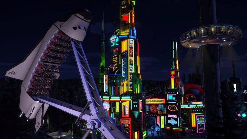 Ve hře Planet Coaster se o prázdninách nebudete nudit 146607