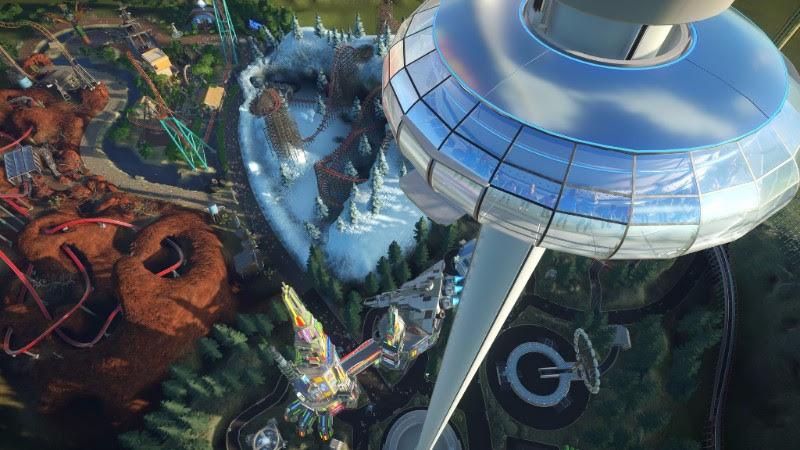 Ve hře Planet Coaster se o prázdninách nebudete nudit 146610