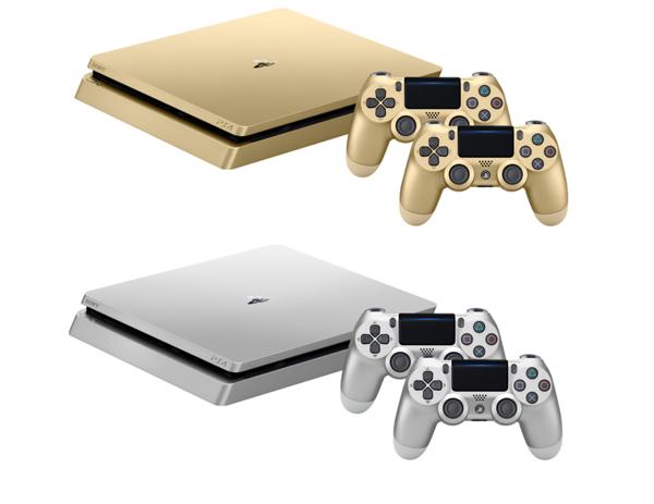 Limitovaná edice zlaté a stříbrné PlayStation 4, Crash či NHL 18 s dárkem 146625