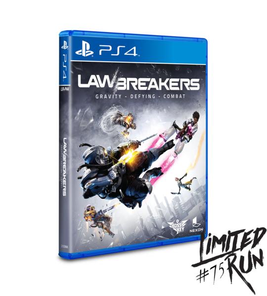 Střílečka LawBreakers dostane limitovanou fyzickou kopii hry 146723