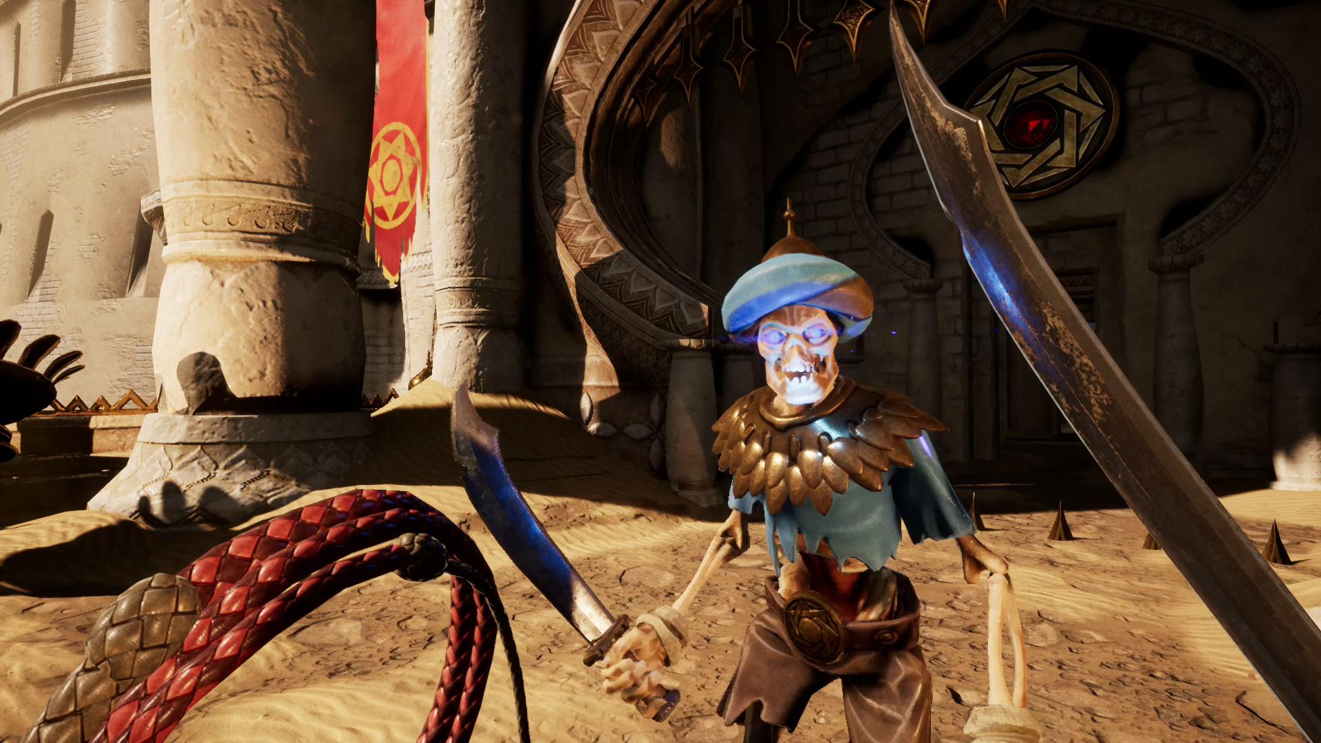 V City of Brass budete bojovat bičem a šavlí 146966