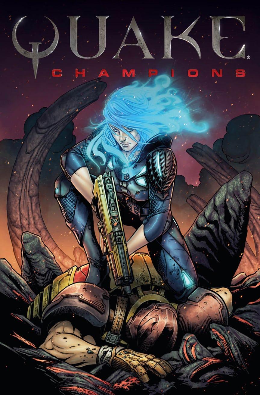 Quake Champions doplní série komiksů 147086