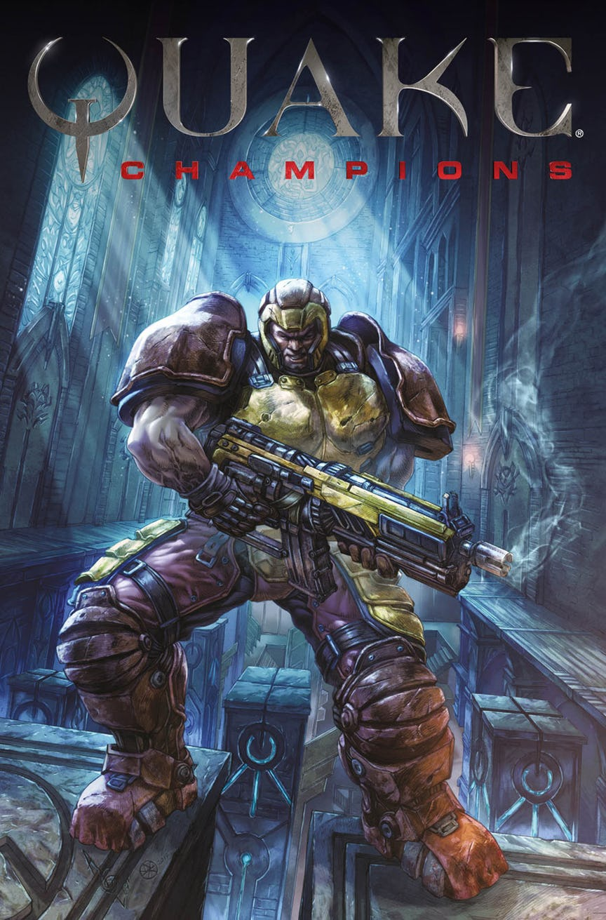 Quake Champions doplní série komiksů 147088